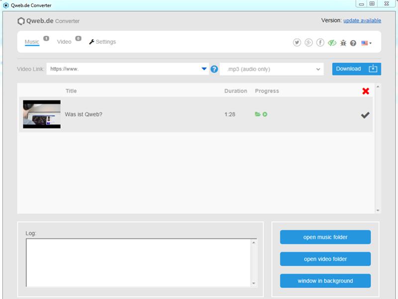 Qweb Video Converter 1.0.1