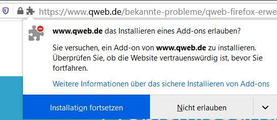qweb-firefox-installation-erlauben